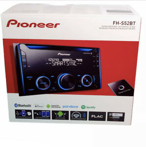 Pioneer FH-S52BT Double 2 Din CD MP3 Bluetooth Receiver Car Stereo MIXTRAX New