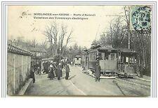 BOULOGNE-SUR-SEINE Porte d'Auteuil Terminus des Tramways électriques