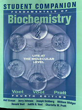 Student Companion to Accompany Fundamentals of Biochemistry by Voet