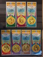 equatorial guinea 1972 MUNICH Olympic games 7 stamp set MNH
