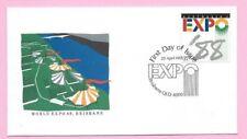 AUSTRALIA  FDC 1988 - EXPO '88 (World Expo 88) - Shs BRISBANE, QLD 4000