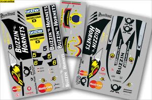 FG Team-Dekorbogen Buzzin-Hornets Formel 1 - 10269 - Buzzin-Hornets Formular