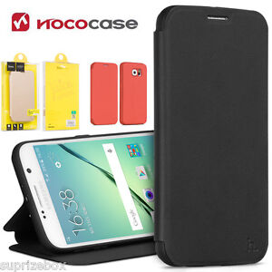 Samsung Galaxy S6 CASE- Leather Luxury Slim Wallet Stand Soft Phone Cover HOCO