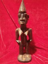 Africaine Art bois ébène sculpture Féminin Acte Afrique Figurine 30,5 CM