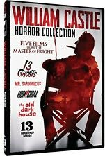 William Castle Horror Collection - 5 Movie Pack - 2 DIS (2015, REGION 1 DVD New)