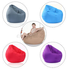 S/M/L/XL Bean Bag s Couch Sofa Cover Beanbag Indoor &Outdoor Garden  ≈