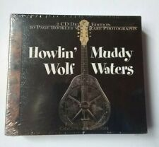 Howlin' Wolf Muddy Waters 2 CD 2001 Dejavu Retro Gold Collection New Unopened
