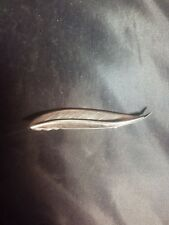 Vintage Fammik Sterling 925 S Danish Leaf Pin Brooch