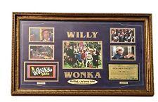 GENE WILDER / WILLY WONKA KIDS SIGNED GOLDEN TICKET 8X10 FRAMED COLLAGE PSA COA