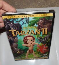 Tarzan II (DVD, 2005) Brand New Factory Sealed Free Shipping