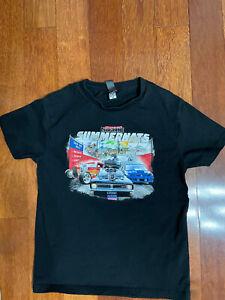 Boys Street Machine Summernats 33 - 2020 Crew Neck T Shirt Sz 14 -EUC Free Post