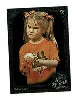2019 Topps Allen & Ginter X Hailey Dawson #154 First Pitch Celebrity