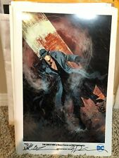 THE QUESTION print signed by DENYS COWAN & BILL SIENKIEWICZ limited to 300!