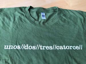 U2 Vertigo T Shirt Large