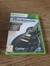 Rocksmith 2014 Edition Gitarre lernen Xbox 360 Musik Videospiel HANDBUCH PAL