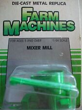 Ertl 1/64 die-cast toy Farm Machines green mixer mill