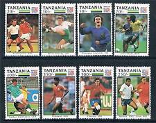 Tanzania 1994 World Cup Football SG 1745/52 MNH
