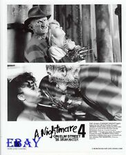 Robert Englund Nightmare On ElmStreet 4 VINTAGE Photo 2 images on one 8X10 photo