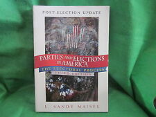 Book * Parties Elections in America 3rd Maisl PB 2002 Political Science Textbook