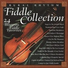 """FIDDLE COLLECTION, CD """"24 BLUEGRASS FIDDLE FAVORITES"""" NEW SEALED"""