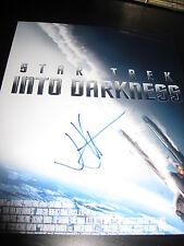 Jj Abrams Unterzeichnet Autogramm 8x10 Foto Star Trek Promo Plakat Persönlich D