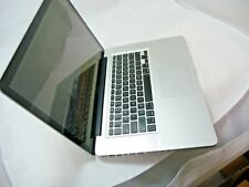 """Used Apple Macbook Pro MC723LL/A 2011 8GB 15.4"""" 750GB *Without Power Adapter*"""