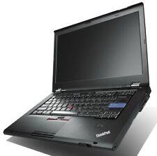 "Lenovo PC ThinkPad Laptop T420s 14"" i5 2.5GHz 8GB 500GB HDD Windows 10 DVD-RW AC"