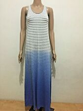 Sale   CALVIN KLEIN MAXI STRIPE DRESS