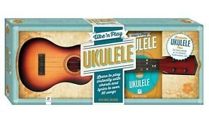 New Uke N Play Ukulele Learn To Play Book CD And Instrument Mike Jackson