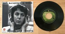 RARE FRENCH SP THE BEATLES WINGS JUNIORS FARM - SALLY G.