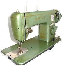 Antique vintage Veritas sewing machine green rare