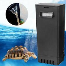 Aquarium Internal Filter Frog Fish Tank Reptile Turtle Low level Water U Us