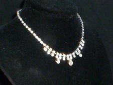Delightful Vintage Sparkling Crystal Necklace 1950s