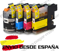 4 CARTUCHOS COMPATIBLES NonOem BROTHER LC223 DCP-J562DW DCPJ562DW
