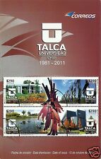 CHILE, UNIVERSITY OF TALCA BROCHURE, YEAR 2011