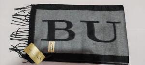sciarpa burberry cashmere e seta