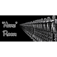 Star Wars Personalised Bedroom Door Sign  - Any Text/Name (8)