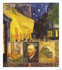 Grenada-Grenadines 2014 Van Gogh Paintings 3 Stamp Sheet 7j-037