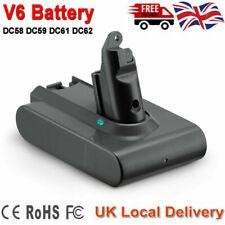 For Dyson V6 Vacuum Replace Battery, V6 Animal, DC58 DC59 DC61 DC62, SV06 UK