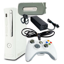Xbox 360 Consola Falcon 14,2A Fat Blanco #2 + 20Gb + Todos los Cables + Mando