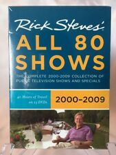 Rick Steves All 80 Shows Europe Boxed Set 2000-2009 (DVD, 2009)