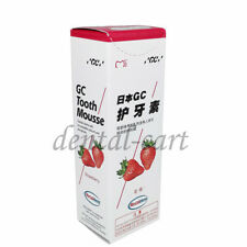 GC Tooth Mousse Strawberry Topical Tooth Cream With Recaldent 1 Tube Of 40 Gm 1X
