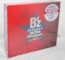 B'Z (BZ) The Best ULTRA Pleasure 2008 Japan Ltd 2-CD+DVD (Digipak)