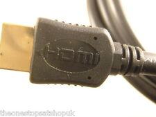 Cable Hdmi Plomo Oro 5m Hd Plasma Lcd Blu Ray Sky Ps3 V1.4 última especificación