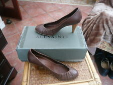 QUALITY VINTAGE LADIES HANDMADE SHOES ALL SAINTS SPITALFIELDS ALL LEATHER SIZE 5