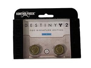 KontrolFreek Destiny 2 Thumbsticks for PS4 PS5 Gold FPS Freek PlayStation CQC