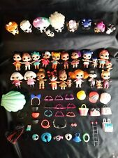 LOL SUPRISE DOLLS LOT BUNDLE 30 DOLL LOT WITH ACCESSORIES BOTTLES PETS BABIES