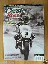 CLASSIC RACER NO 101,BARRY SHEENE,DICKIE DALE,JAWA,PERCY TAIT TRIUMPH,SCITSU