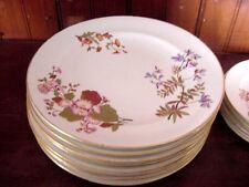 8 pcs Royal Worcester Ivory Dinner plates 10 1/2''  1880s