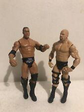 Stone Cold Steve Austin  And The Rock-2011 - WWE Wrestling Figure Mattel